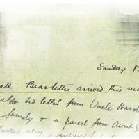 Biography Week: Two Unidentified WW1 Letters