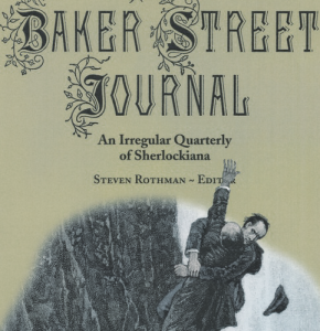 Ouida's Sherlock Hits the Presses…