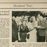 Hollywood Tours 1937
