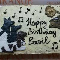 Birthday Cake for Basil